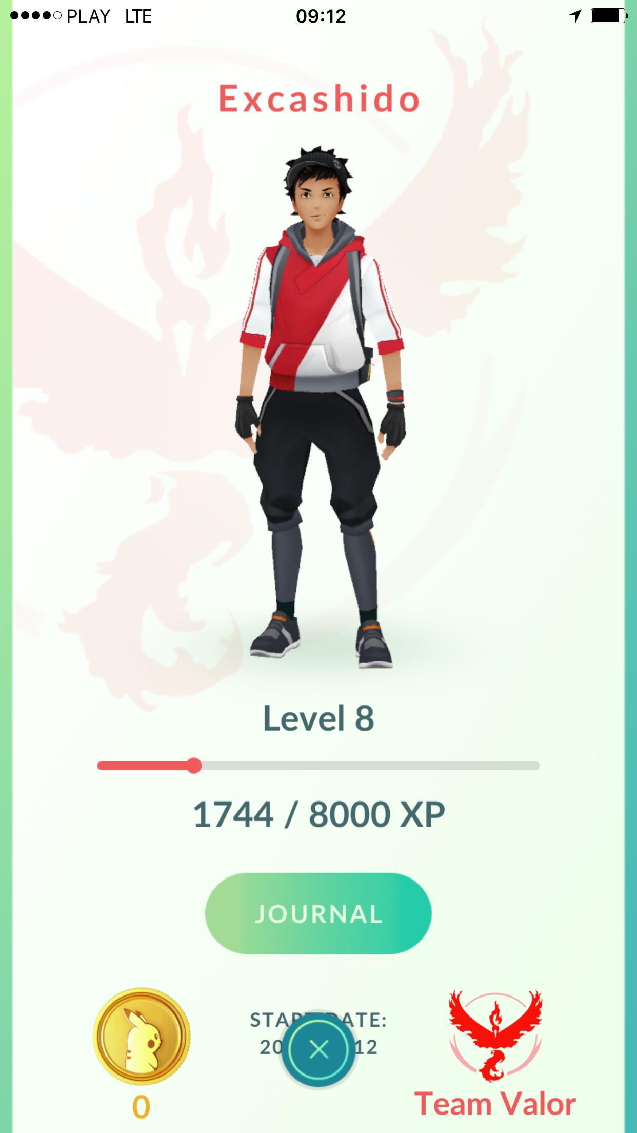 character - Pokemon GO